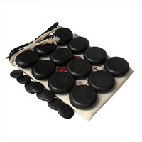 Tontin Hot massage basalt stone Beauty Salon SPA tool with 110V & 220V heater bag CE and ROHS 20pcs/set