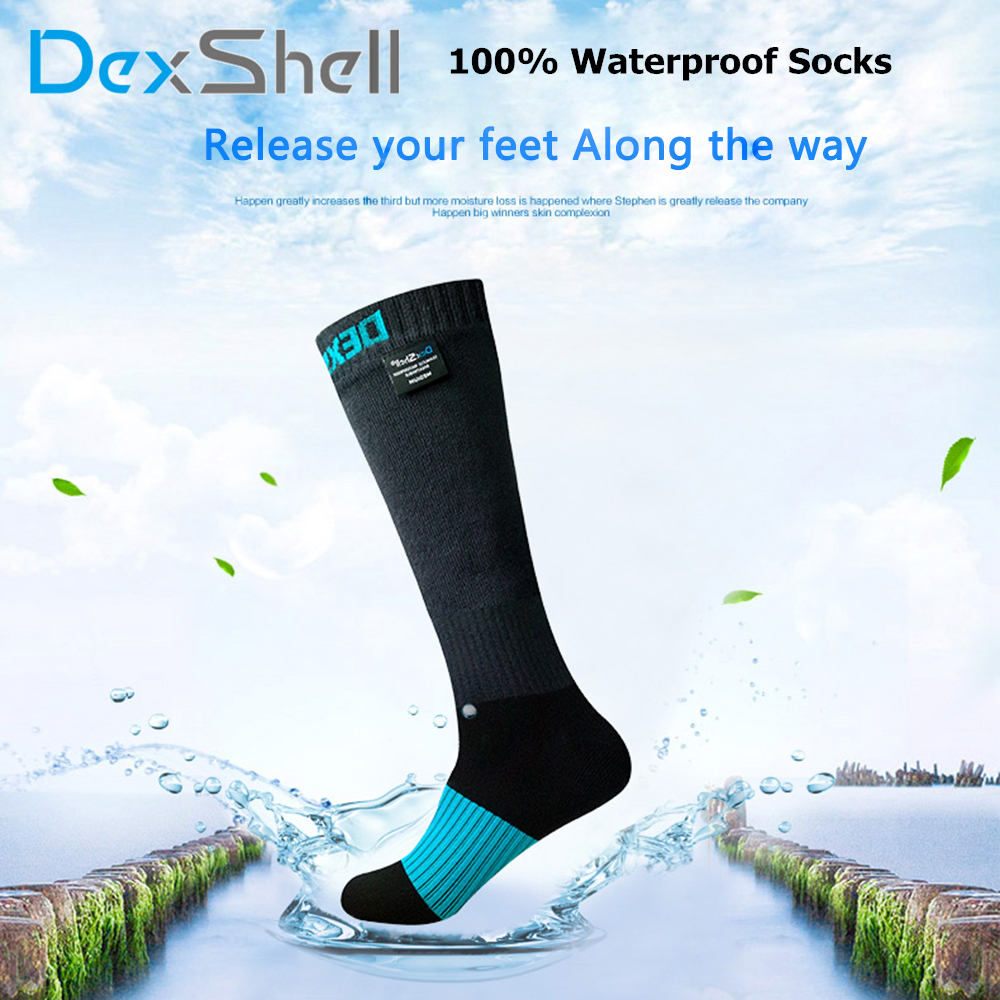 High quality Knee high Lightweight Thin Breathable Coolmax Waterproof Outdoor Sports Socks Hunting Hiking Socks for