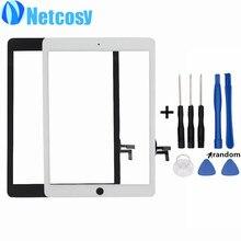 Para el ipad de Aire Con Pantalla Táctil de Alta Calidad de Pantalla Táctil en Blanco y Negro panel táctil de cristal Digitalizador de Reparación para iPad 5 tablet y Herramientas