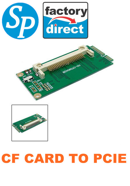 CF Cards CompactFlash Card To Mini PCI E Express Adapter For Asus EeePC 901 900