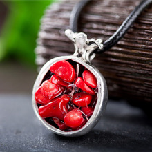 Vintage Pomegranate Women's Necklace