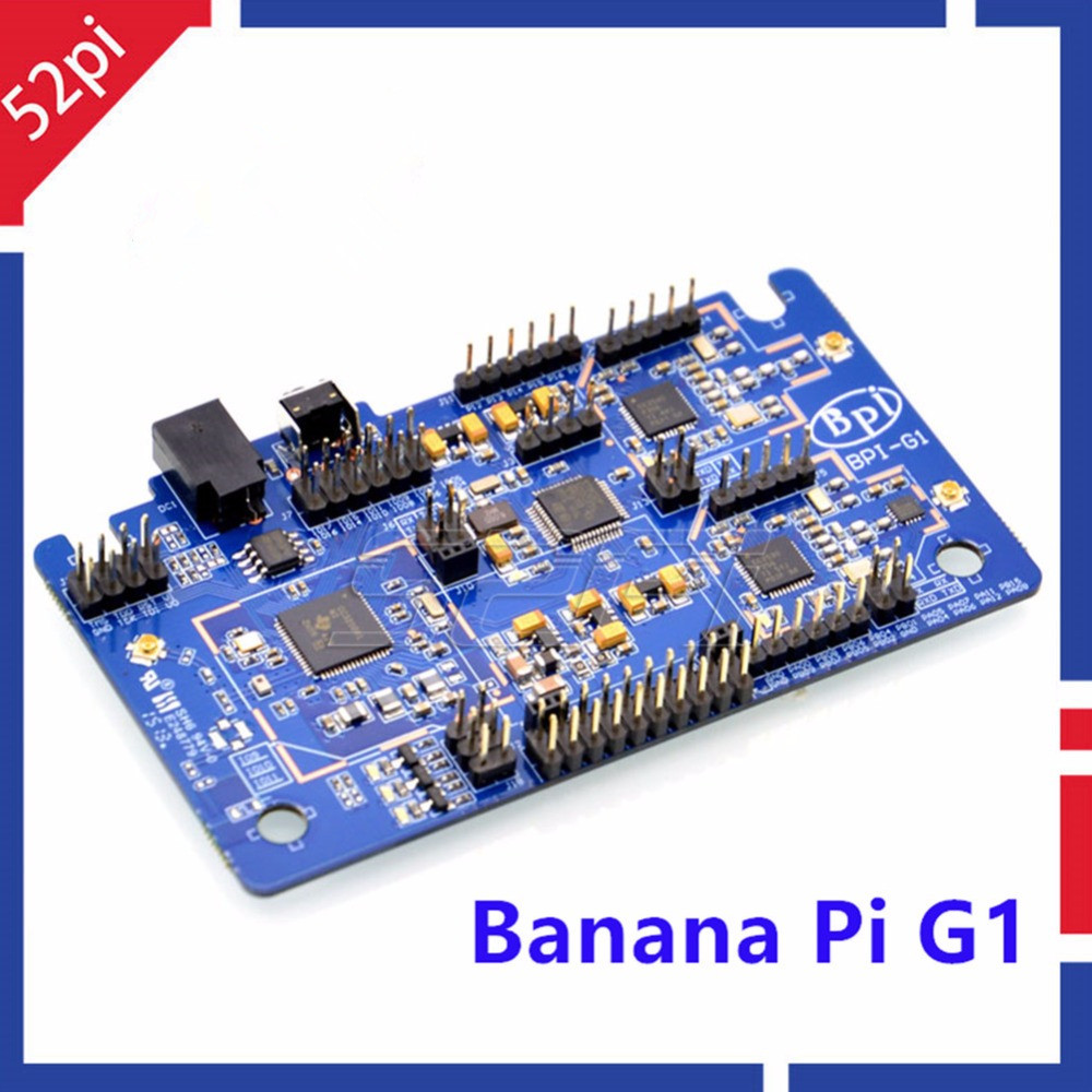 Banana Pi G1 Gateway BPI-G1 Smart Home Control Center on-board WiFi Bluetooth Zigbee Open-source development board banana pi r1 wireless router open source development board bpi r1 smart home control plate