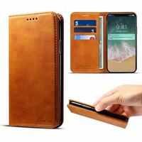 Luxury High Quality Flip Leather Case For Apple IPhone X Cover Wallet Magnetic Business Vintage Retro