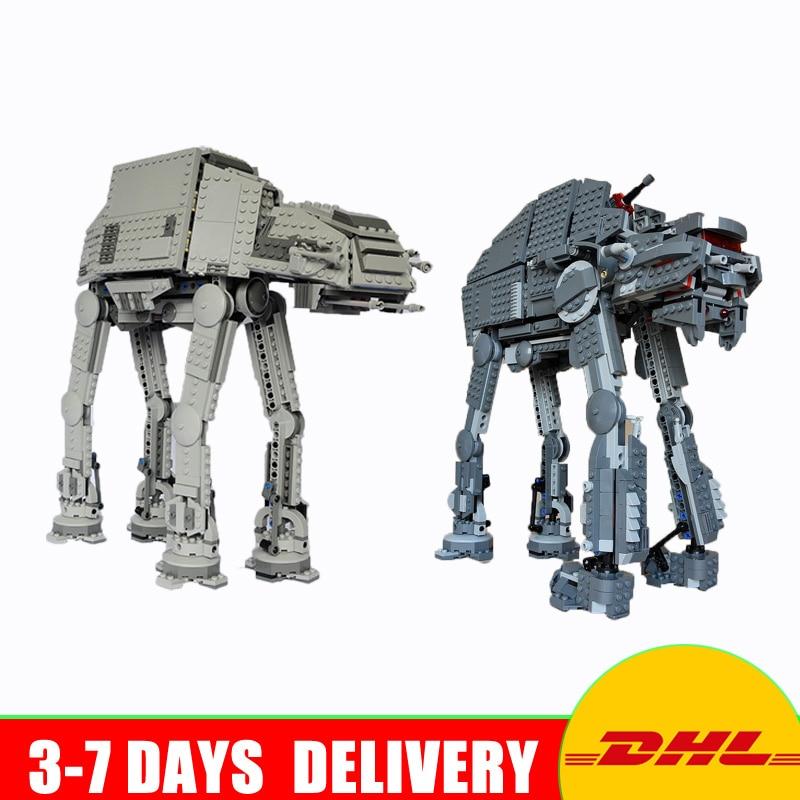 LEPIN 05051 Star Wars UCS Force Awaken The AT AT Transpotation Armored Robot 05130 Model Blocks Bricks Toys Clone 75054 75189