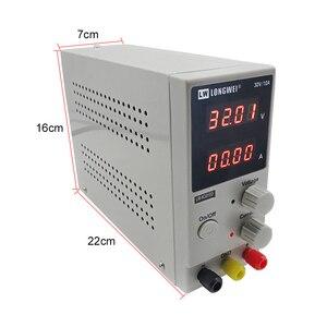 Image 4 - K3010D dc אספקת חשמל 4 ספרות תצוגת תיקון חוזרת מתכוונן כוח supplylad בחור מתג כוח 30V10A מעבדה אספקת חשמל