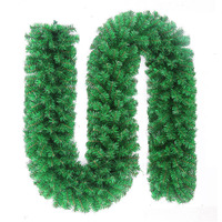 2.7m Christmas Pine Garland Artificial Green Wreath Christmas Tree Hanging Ornament for Home Party Xmas Decorations