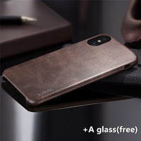 Luxury Phone Case For Apple Iphone 8 Edition Case Soft Leather 360 Full Protective Back Cover