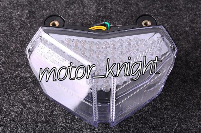 Clear Rear Tail Brake Light Taillamp For DUCATI 1198//R//CORSE 09-10 Motor