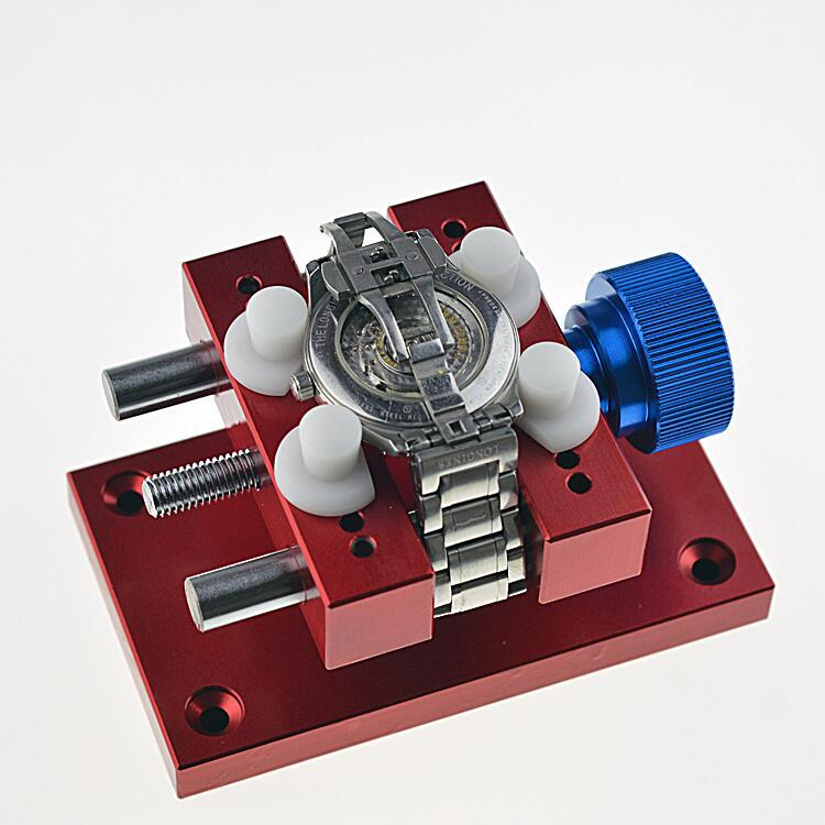 Professional/DIY Random Color Watch Repair Tool Watch Metal extra open seat clamp watch fixed open the table folder watch tool watch case open holder repair tool random color