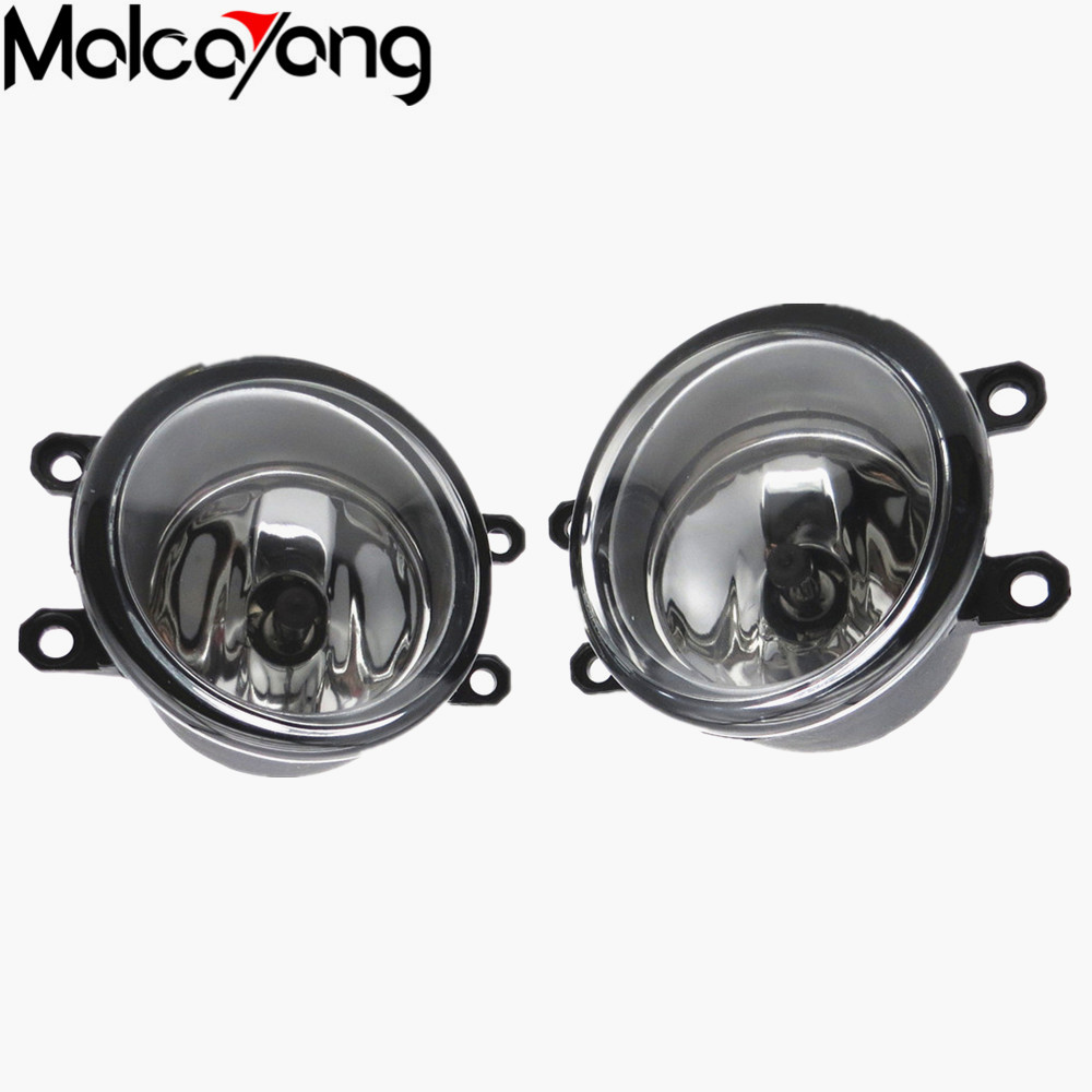 2 Pcs/Set Car-styling Front bumper light fog lamps For toyota CAMRY 2010+ Fog Lights (Left + right)  81210-06052 for car styling front bumper fog lights para toyota iq kgj1 ngj1 2012 2013 fog lamps esquerda direita halogen 1set