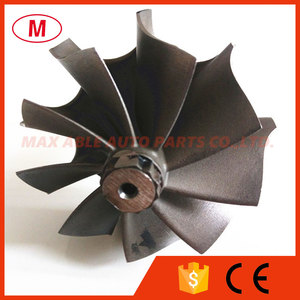 Image 5 - TD05H Turbocharger  turbine shaft&wheel/turbine wheel 49.12X56mm 9 blades