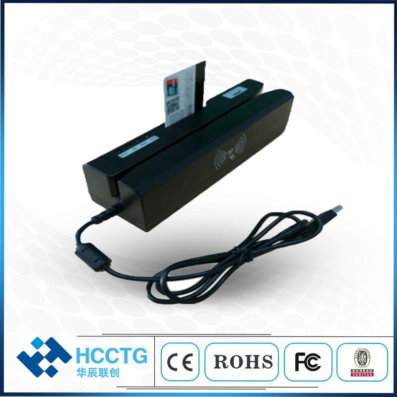 Haute qualité 1MM tête magnétique carte de crédit écumeur bande magnétique lecteur de carte écrivain HCC80