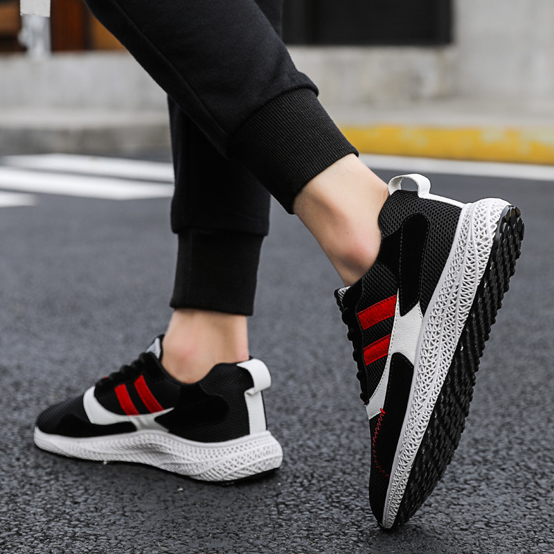 2018 Summer Sneakers Breathable Men Casual Shoes Fashion Men Shoes Tenis Masculino Adulto Sapato Masculino Men Leisure Shoe in Men 39 s Casual Shoes from Shoes