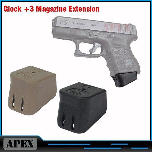 new glock plus 3 magazine base extension bottom glock 3 magazine