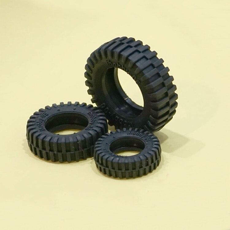 4PCS Mini Rubber Tires D50 D32 D26 D24 D20 D10mm Wheel Tire Railing for font b
