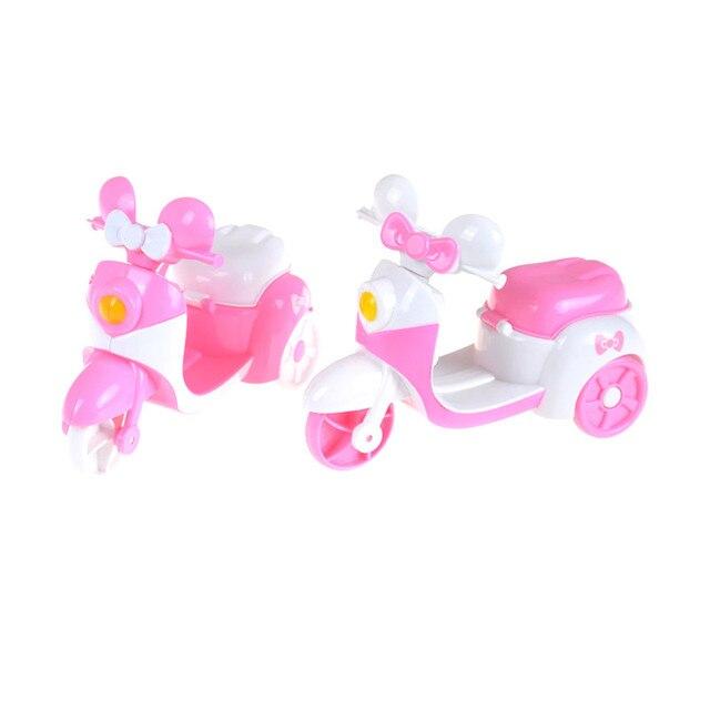 Merah Muda Sepeda Motor Bisa Duduk Boneka untuk Anak Mobil Mainan Anak  Hadiah Lucu Bermain Rumah 89fe5328af