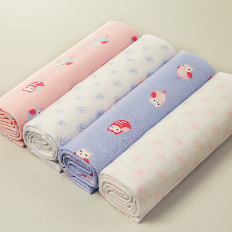 Soft Flannel Receiving Baby Blanket Swaddle Baby bed Sheet And Blankets New Born