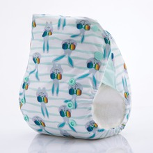 JinoBaby Bamboo Aio Diapers - Cool Bunny