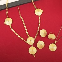 Ethiopian Jewelry Sets 24K Gold Plated And Silver Bridal Jewelry Sets For Ethiopian Eritrean African Girls