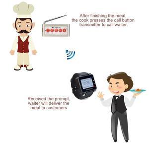 Image 5 - Retekess TD005 5 Key Wireless Calling Bell Pager ปุ่มเครื่องส่งสัญญาณสำหรับ Wireless Calling System สำหรับร้านอาหารร้านกาแฟ
