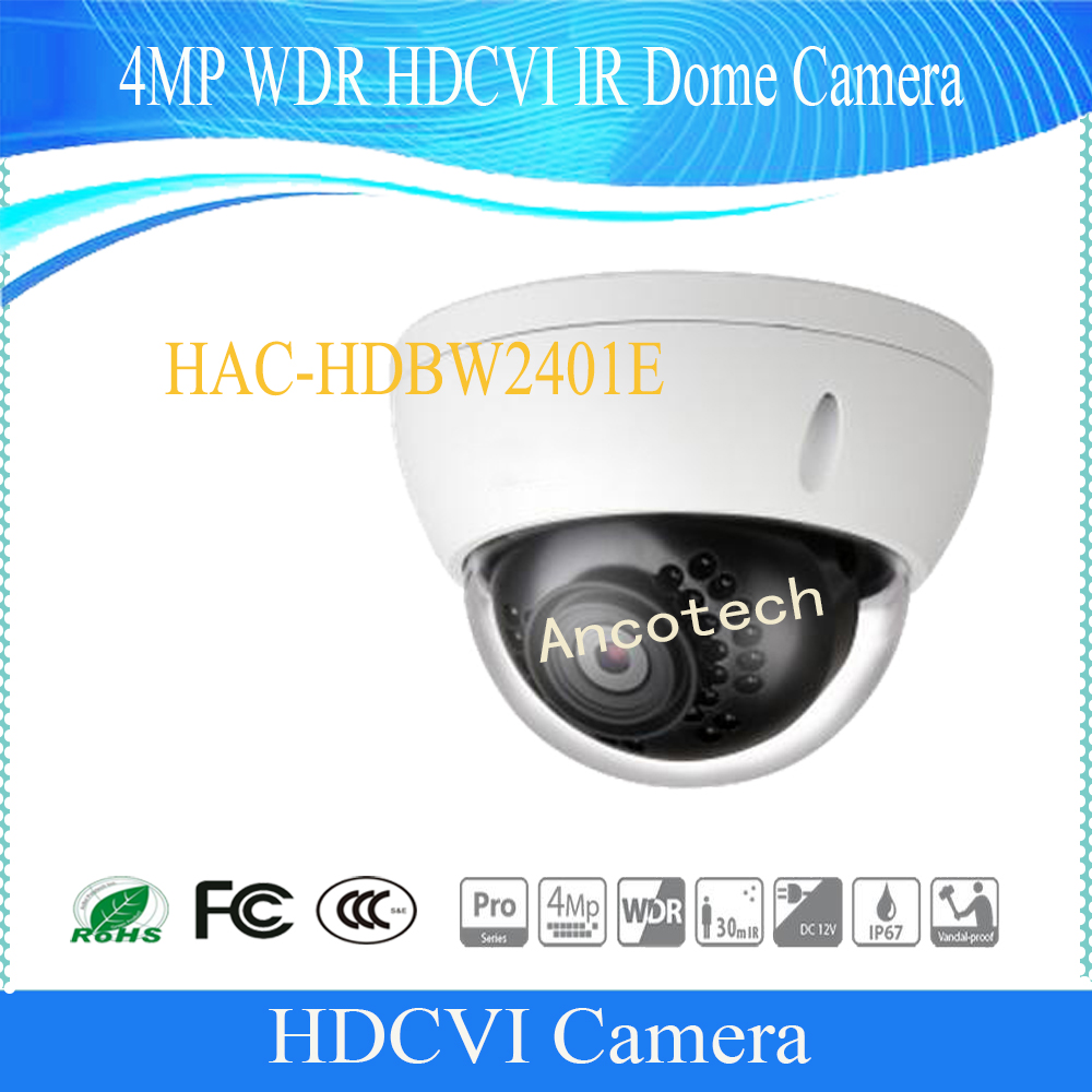 Free Shipping DAHUA Security Camera 4MP WDR HDCVI IR Dome Camera IP67 IK10 DH-HAC-HDBW2401EFree Shipping DAHUA Security Camera 4MP WDR HDCVI IR Dome Camera IP67 IK10 DH-HAC-HDBW2401E