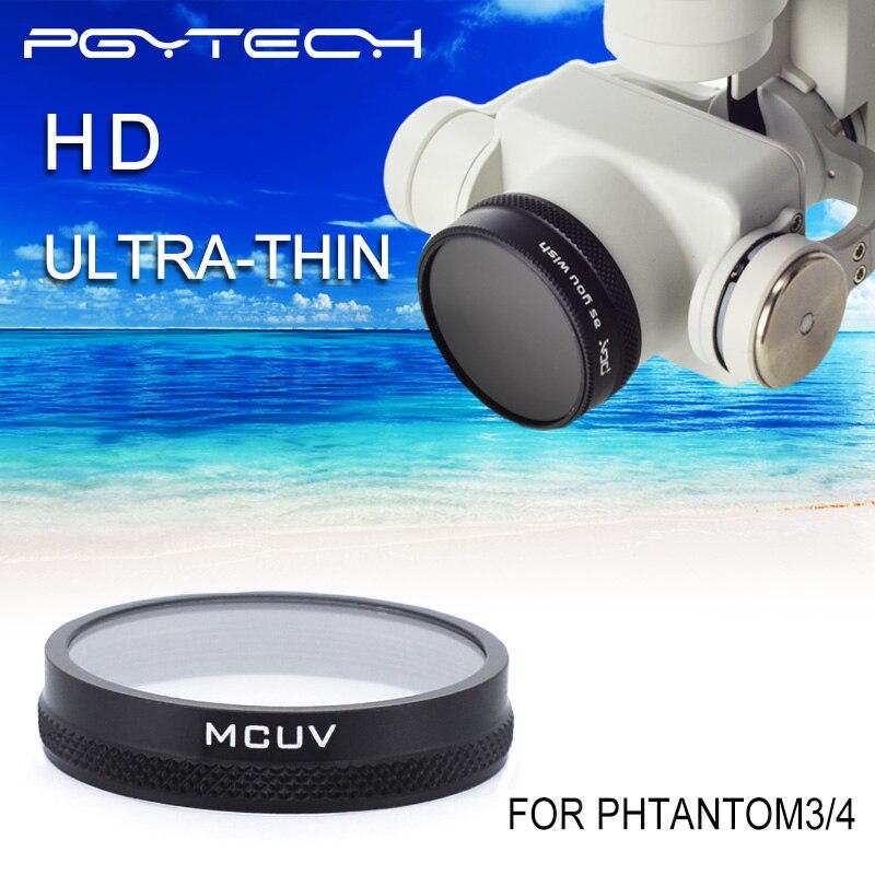 DJI Phantom 4 3 Professional Advanced Camera Lens Filter Mirror Polarizer MCUV Filter Light Microscopy drone parts accessories