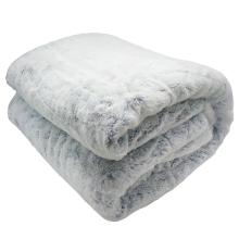 Soft Fuzzy Warm Faux Fur Plush Blankets Double Layer Mink Throw Single Bed  Winter Flannel On The