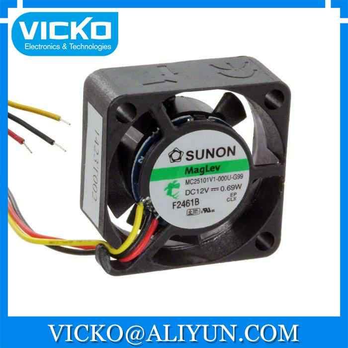 [Vicko] MC25100V1-000U-G99ファンアキシャル25 × 10ミリメートルvapo 5vdc線ファン
