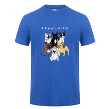 High Quality French Bulldog Frenchies Printed T Shirt For Men