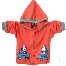 Childrens sweatshirt 2019 new autumn kids hoodies orange cotton cartoon car for boy clothes baby
