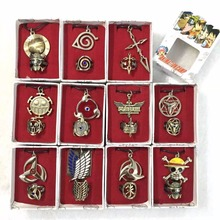 ONE PIECE Naruto Fate stay night Attack on Titan Kuroshitsuji Fate stay night GINTAMA hero alliance Fashion Pierced Ring model