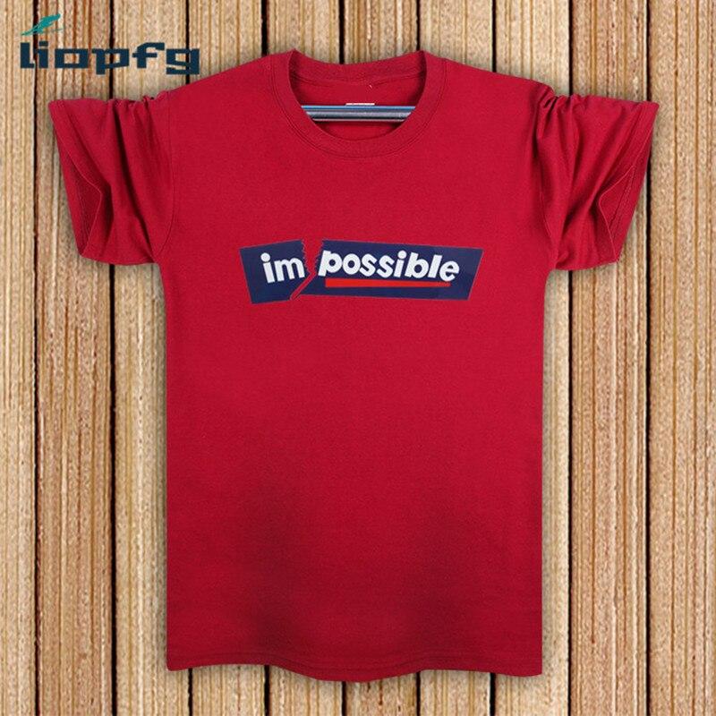 2017 Short Sleeved font b Men b font font b T Shirt b font Large Size