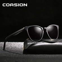 COASION Brand Retro Cat Eye Polarized Sunglasses Women 2019 Lady Cateye Sun Glasses Shades for gafas de sol mujer CA1148