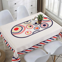 Waterproof polyester tablecloth europe style non-slip table mat placemat coffee cover dining cloth free shipping