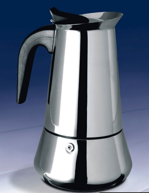 Stainless Steel Stovetop Coffee Maker Manually Moka Pot Espresso 2 4 6 9 Cups Suit For Induction Cooker In Makers From Home