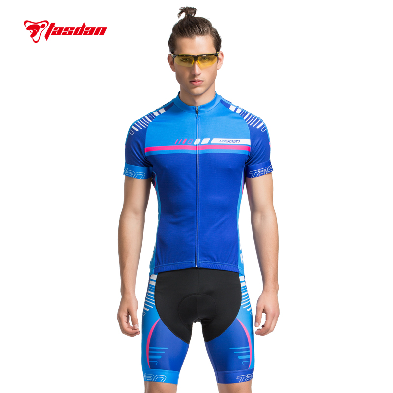 Tasdan New Men Cycling Jersey Sets Bicycle Bike Wear Cycling Sportswear Cycling Clothings Shorts Cycling Accessories Shorts custom made cheap cycling jersey customized bike uniform sportswear manufacturers oem service bicycle bib shorts with your logo