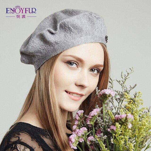 Женщины Береты шапки на Весну и Осень вязаная с Бисером шапочки шапки 2017 новое прибытие fashional и элегантный один слой шляпа