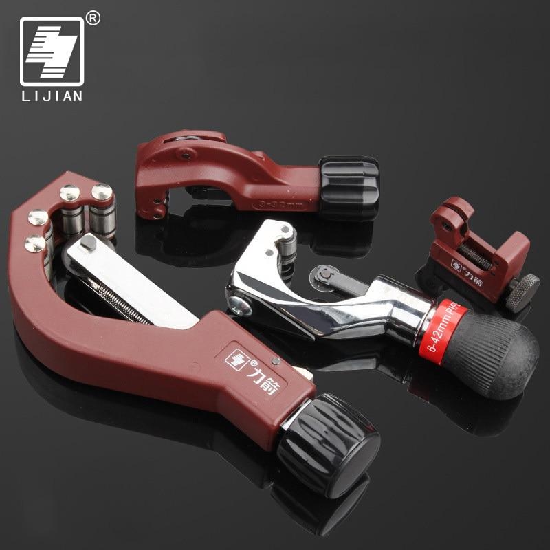 Cortador de tubos LIJIAN Tubo de rodamiento Herramienta para cortar tubos de aluminio y cobre Tubo de metal Cortador de tubos Cortador de cuchillas