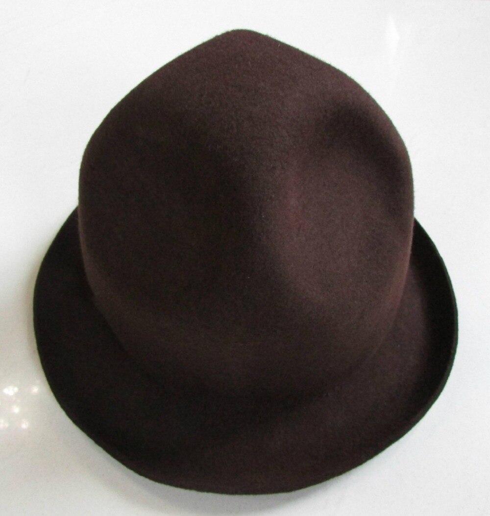 0b6ea196688ae Wool Felt Tall Mountie Buffalo Happy Williams Rapper Mountain Hat-in  Fedoras from Apparel Accessories on Aliexpress.com
