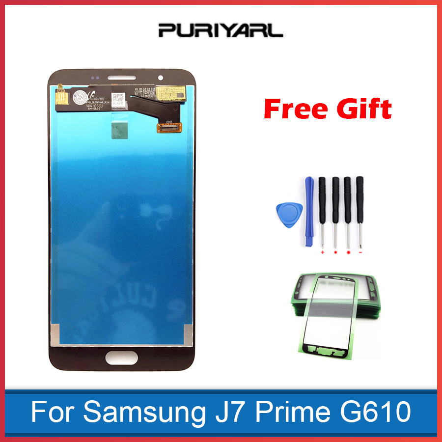 AAA Quality TFT Screen for Samsung Galaxy J7 Prime G610F G610K G610L G610S LCD Display Touch Screen Digitizer Parts Replacement