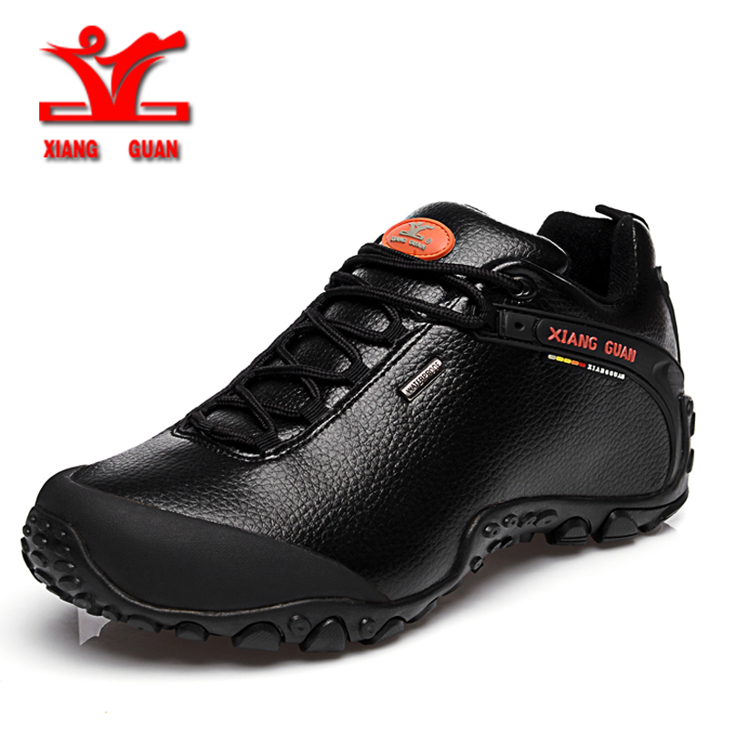 xiangguan 2017 new outdoor hiking shoes men anti slip sport shoes resistant Sneaker man trekking shoes for woman free shipping mulinsen brand new winter men sports hiking shoes cowhide inside keep warm sport shoes wear non slip outdoor sneaker 250666
