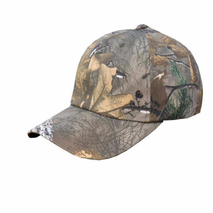 8ae0798dedd95 Bionic Pine tree Jungle Camouflage Military enthusiasts Birding Hunting  Tactical shade Cap Camo Baseball hat