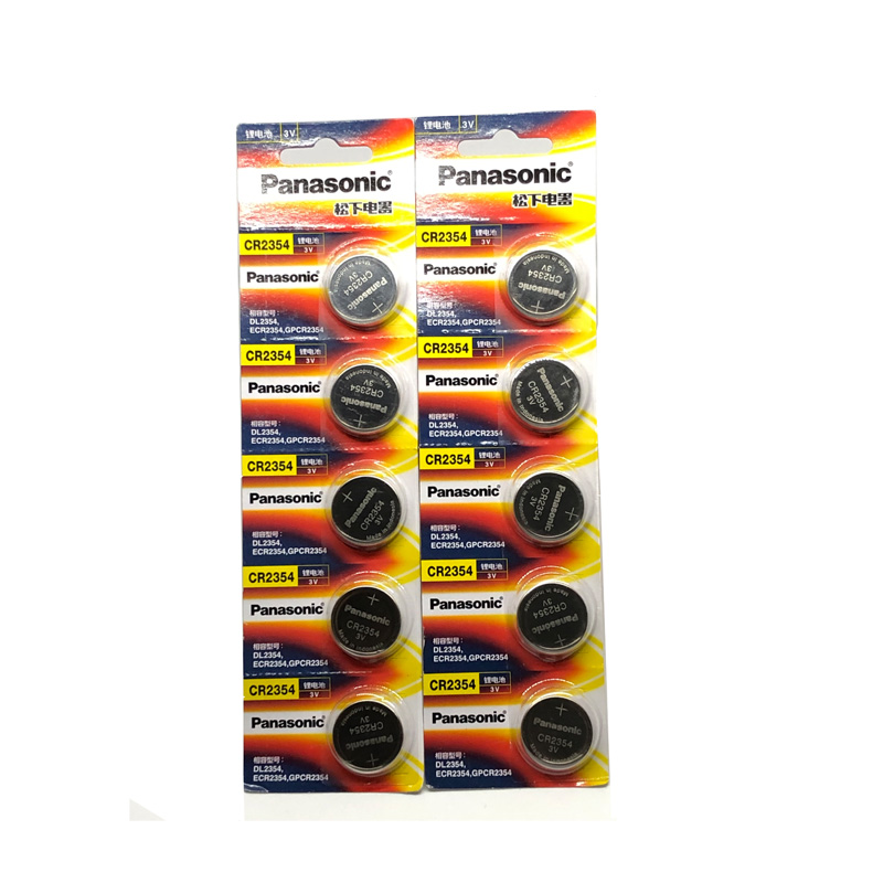 4pcs lot Panasonic CR2354 CR 2354 Button Cell Batteries DL2354 ECR2354 GPCR2354 3V Lithium Coin Battery in Button Cell Batteries from Consumer Electronics