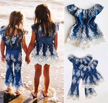 c3b91615491d9 2018 Brand New Princess Sweet Summer Kid Dress Baby Girls Embroidery Lace  One Piece Jumpsuit Romper