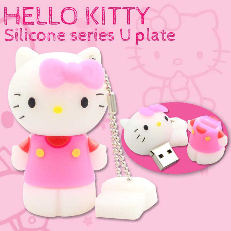 Olá Kitty Unidade Flash USB Bonito Pen Drive Presente Criativo USB Memory Stick Flash 2.0 GB GB 16 32 64 GB 8 GB 4 GB