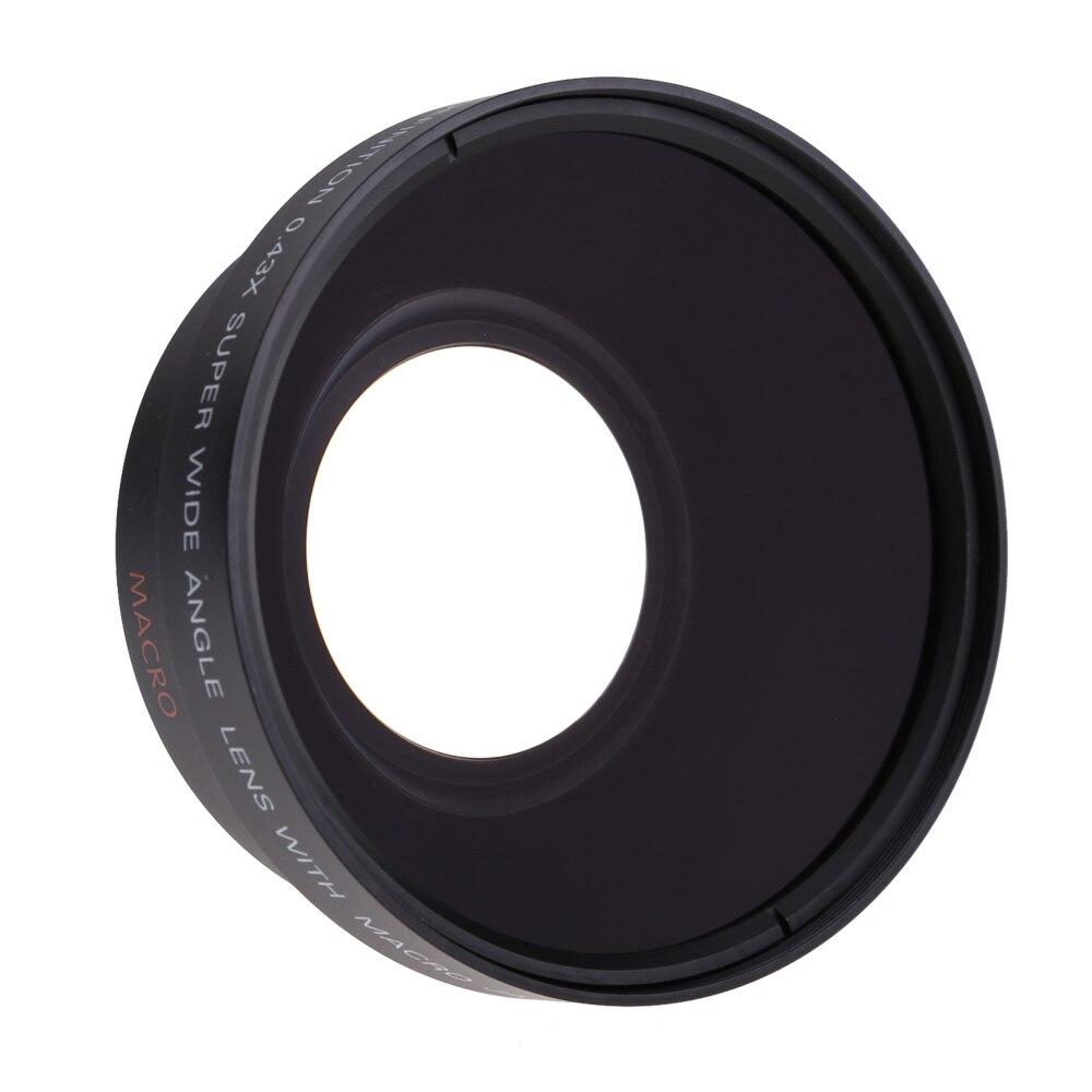 67MM 0.43X široki Angel & makro objektiv + 2.2X telefoto objektiv za - Kamera i foto - Foto 2