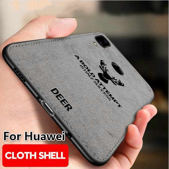 Kain Rusa Kulit untuk Huawei Y5P Y6P Y7P 2020 Mate40 Lite P Smart 2019 Nova 3i Kehormatan 9A 9X Lite 9S 8C 8X 10 Cover