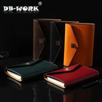 2018 Business Note Book Manufacturer Custom A6 Leather Face Student Pu  Notebook Office Stationery Notebook Customized Logo