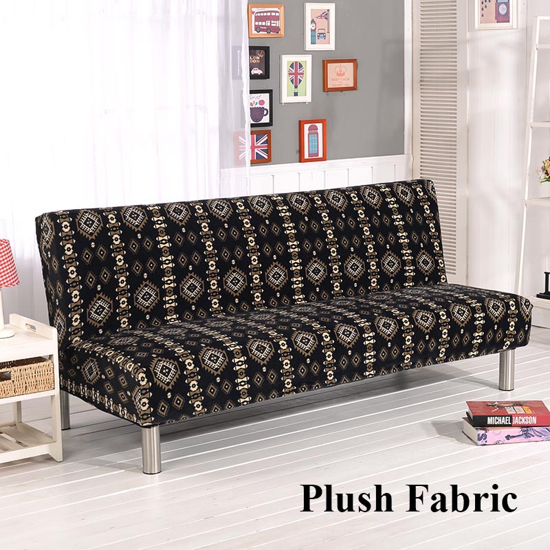DFH Full Set Of Velvet Sofa Covers All Four High End Stretch Sofa Sets  Plush Bohemian Black Stretch Sofa Set Towel Cover For Sof In Sofa Cover  From Home ...