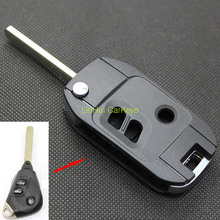 PINECONE for SUBARU FORESTER OUTBA  LANCER LEGACY 3 Buttons Uncut Brass Blade Modified Remote Blank ABS Key Shell 1PC